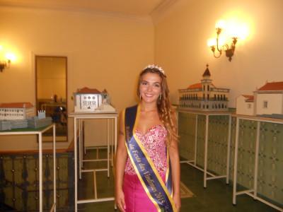 Estudante e natural de Palmela:  Diana Ferreira eleita Rainha da Festa das Vindimas