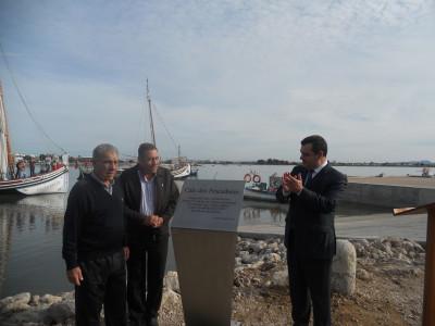 Cais dos Pescadores do Montijo inaugurado: Investimento superior a 600 mil euros