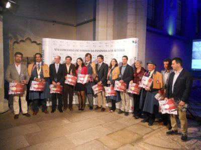 Prémios do XVI Concurso de Vinhos da Península de Setúbal: Adega de Pegões ganhou 10 medalhas de ouro e prata