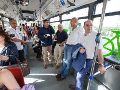 TCB já operam na Moita: Carreiras 1 e 2 ligam os dois concelhos