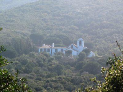 Quinta na serra da Arrábida: Capela de Nossa Senhora de El Carmén está a ser recuperada