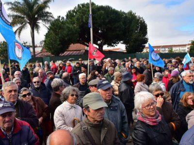 Entre Baixa da Banheira e Barreiro:  Marcha exige melhores serviços de saúde