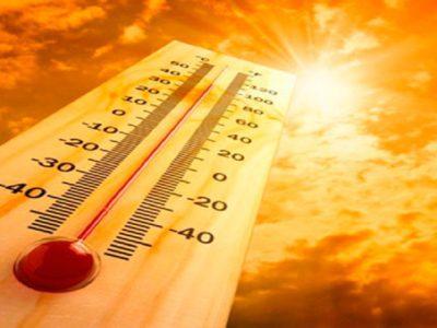 Alerta para temperaturas elevadas